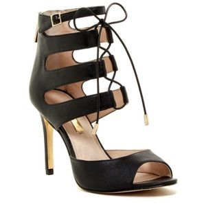 Shoes - Louise et Cie Lo-Janell lace up heels